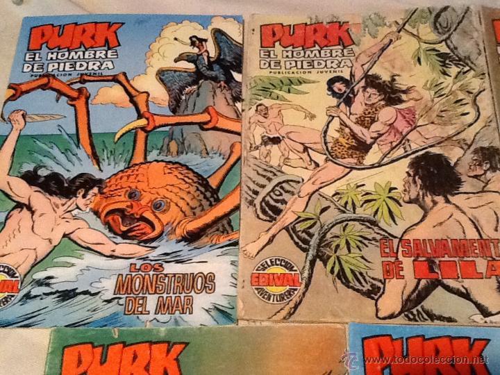 Tebeos: Cómics Purk el hombre de piedra - Foto 2 - 46101308