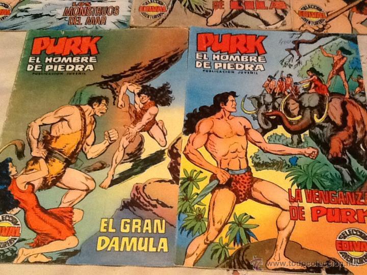 Tebeos: Cómics Purk el hombre de piedra - Foto 3 - 46101308