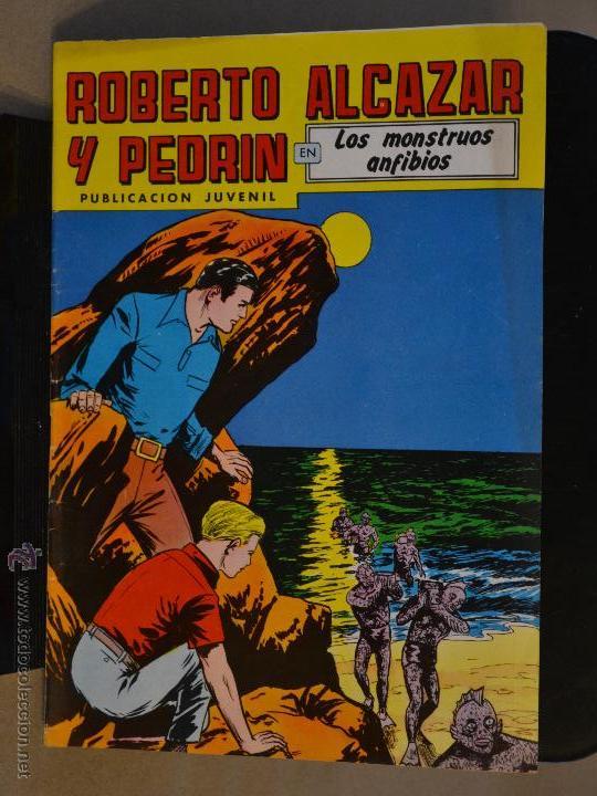 ROBERTO ALCAZAR Y PEDRIN Nº 267. LITERACOMIC. (Tebeos y Comics - Valenciana - Roberto Alcázar y Pedrín)