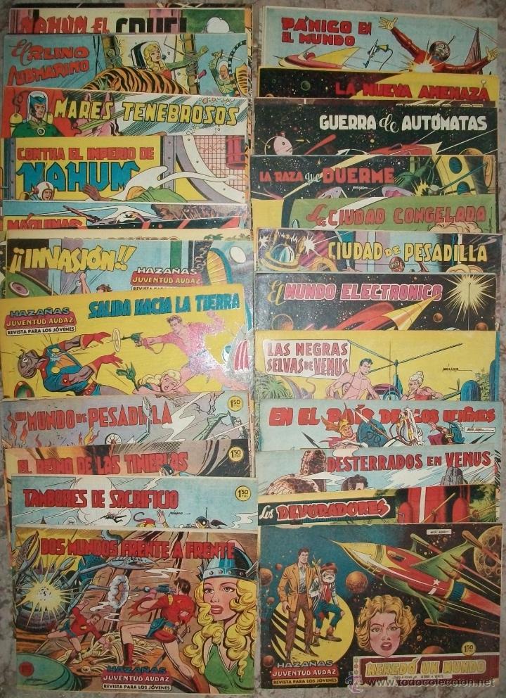 HAZAÑAS DE LA JUVENTUD AUDAZ (VALENCIANA) (COMPLETA 44 NUMEROS SIN ABRIR) VER FOTO ADICIONAL (Tebeos y Comics - Valenciana - Otros)