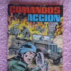 Tebeos: COMANDOS EN ACCION 2 EDITORIAL VALENCIANA 1979 TEMPLE DE AUDACES ACCIÓN PELIGROSA. Lote 205080918