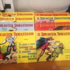 Tebeos: EL ESPADACHÍN ENMASCARADO 10 TOMOS, 2ª ED- 1981, TOMO 5-6 INDIVIDUALES. Lote 46432892