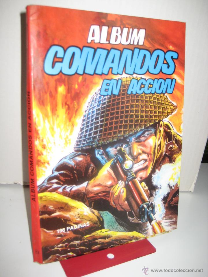 Tebeos: ÁLBUM COMANDOS EN ACCIÓN Nº 1 Y 2 (RETAPADO CON LOS NÚMEROS DEL 1 AL 6 ) VALENCIANA 1982 OFRT - Foto 2 - 126606319