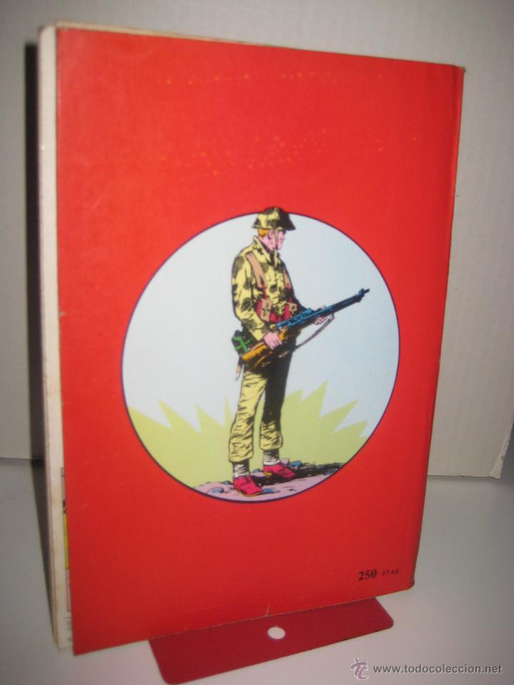 Tebeos: ÁLBUM COMANDOS EN ACCIÓN Nº 1 Y 2 (RETAPADO CON LOS NÚMEROS DEL 1 AL 6 ) VALENCIANA 1982 OFRT - Foto 3 - 126606319