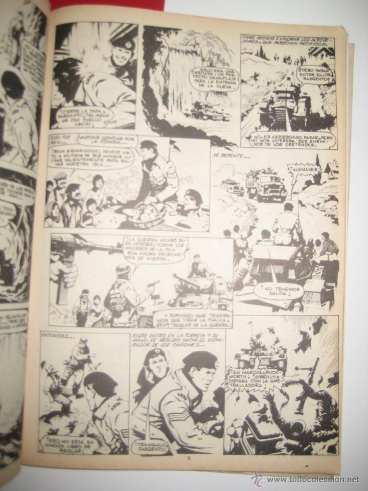 Tebeos: ÁLBUM COMANDOS EN ACCIÓN Nº 1 Y 2 (RETAPADO CON LOS NÚMEROS DEL 1 AL 6 ) VALENCIANA 1982 OFRT - Foto 4 - 126606319