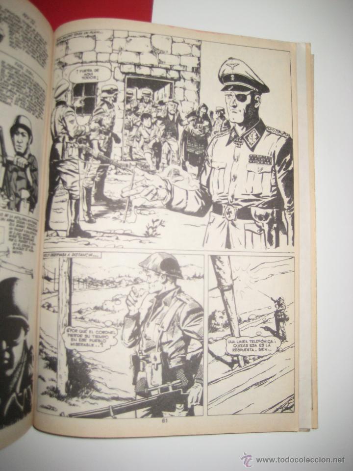 Tebeos: ÁLBUM COMANDOS EN ACCIÓN Nº 1 Y 2 (RETAPADO CON LOS NÚMEROS DEL 1 AL 6 ) VALENCIANA 1982 OFRT - Foto 5 - 126606319