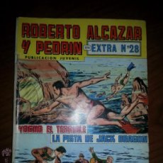 Tebeos: COMIC EXTRA Nº 28 ROBETO ALCAZAR Y PEDRIN (YOGUR EL TERRIBLE Y LA PISTA DE JAK DRAGON). Lote 46722150