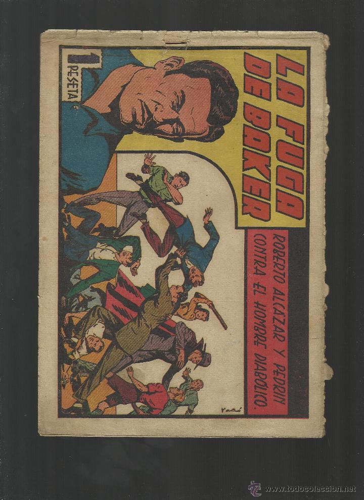 ROBERTO ALCAZAR CONTRA EL HOMBRE DIABOLICO Nº 106 (Tebeos y Comics - Valenciana - Roberto Alcázar y Pedrín)