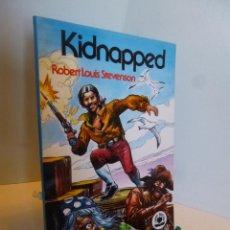 Livros de Banda Desenhada: LIBROS GRÁFICOS Nº 12 KIDNAPPED. ED. VALENCIANA 1982 (ROBERT LOUIS STEVENSON ). Lote 53721190