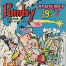 Tebeos: PUMBY Nº 994 ALMANAQUE 1977 - MUY NUEVO. Lote 47071601