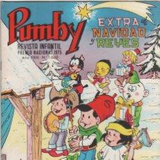 Tebeos: PUMBY Nº 1050 EXTRA NAVIDAD Y REYES - 24-12-1977 EDITORIAL VALENCIANA. Lote 47071611
