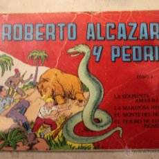 Tebeos: ROBERTO ALCAZAR Y PEDRIN. TOMO NUMERO 2, RETAPADO. CONTIENE LOS NROS: 5, 6, 7, 8. VALENCIANA. Lote 47151780
