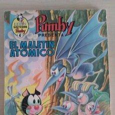 Tebeos: LIBROS ILUSTRADOS PUMBY Nº 41 EL MALETÍN ATÓMICO ED VALENCIANA.. Lote 47168483