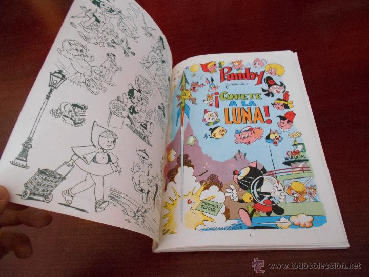 Tebeos: Libros ilustrados PUMBY nº 8 C ¡Cohete a la Luna! CASI PERFECTO - Foto 2 - 47274052