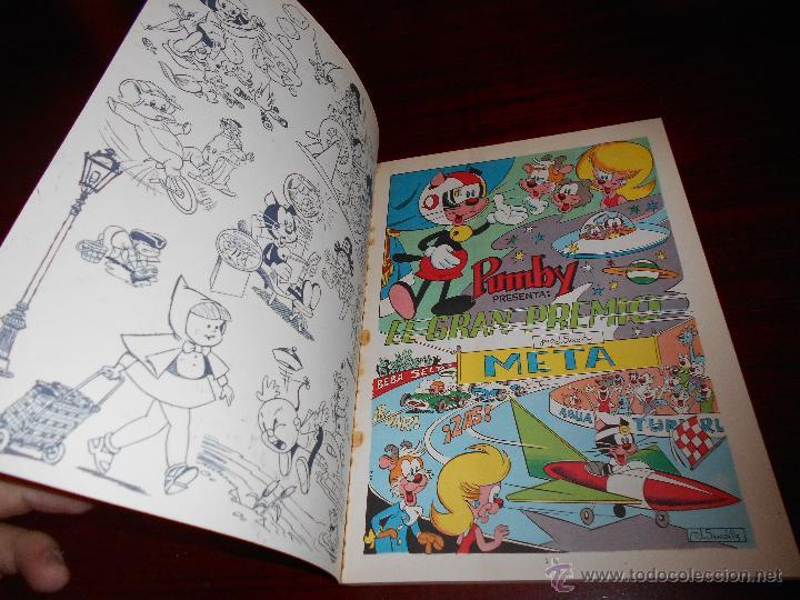 Tebeos: Libros Ilustrados Pumby 15 El gran Premio Editorial Valenciana 1969 perfecto - Foto 2 - 47281274