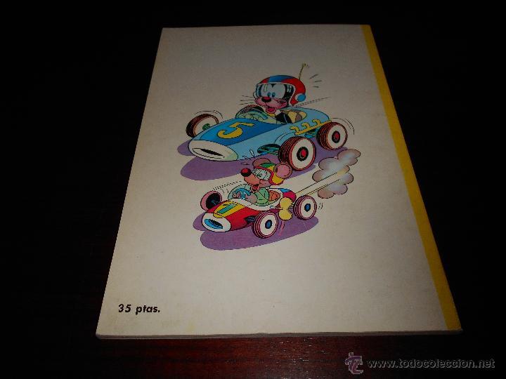 Tebeos: Libros Ilustrados Pumby 15 El gran Premio Editorial Valenciana 1969 perfecto - Foto 3 - 47281274