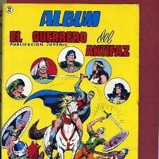 Tebeos: ALBUM EL GUERRERO DEL ANTIFAZ , NUMERO 2, FEBRERO DE 1981 .... Lote 235723320
