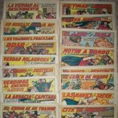 Tebeos: EL ESPADACHIN ENMASCARADO (VALENCIANA) (LOTE DE 61 NUMEROS DIFERENTES). Lote 47350973