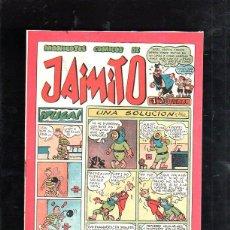Tebeos: MONIGOTES COMICOS DE JAIMITO. UNA SOLUCION. EDITORIAL VALENCIANA. Lote 47528574