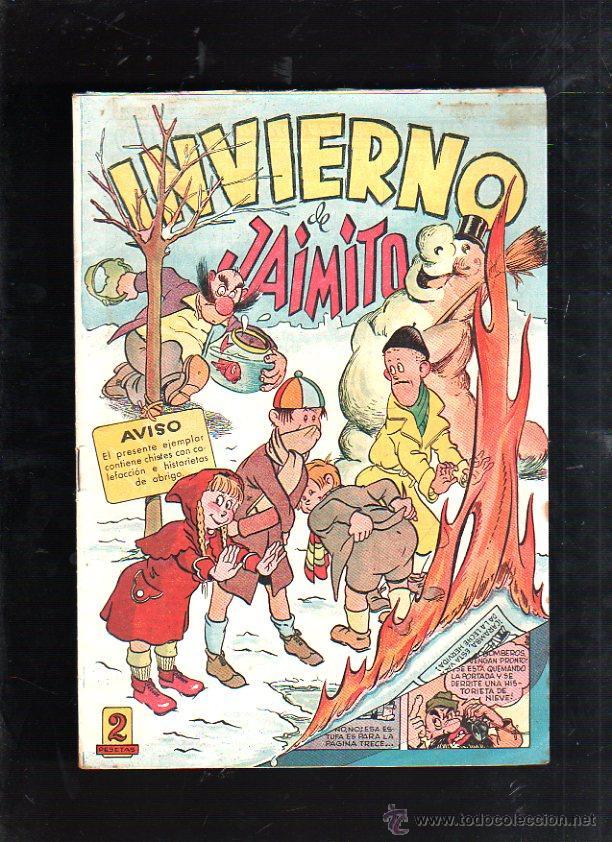 INVIERNO DE JAIMITO. EDITORIAL VALENCIANA (Tebeos y Comics - Valenciana - Jaimito)