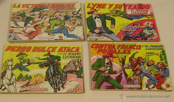 EL PEQUEÑO LUCHADOR EDITORIAL VALENCIANA 1960 LOTE DE 67 Nº ORIGINALES (Tebeos y Comics - Valenciana - Pequeño Luchador)