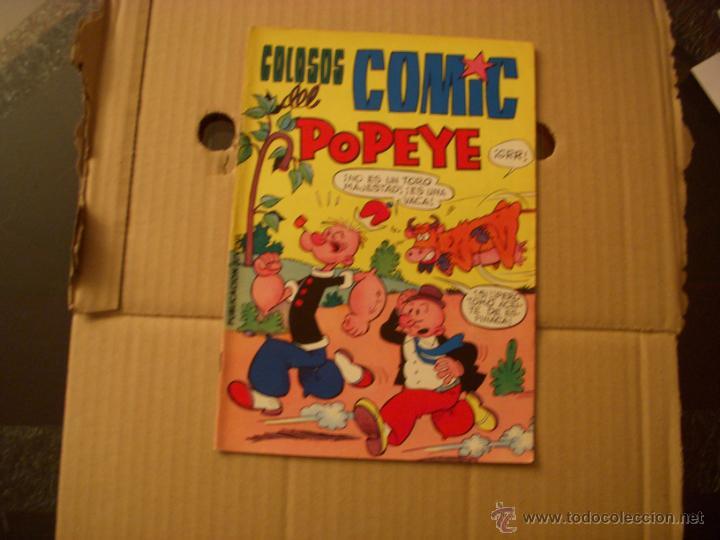 COLOSOS DEL COMIC, CON POPEYE Nº 12, EDITORIAL VALENCIANA (Tebeos y Comics - Valenciana - Colosos del Comic)