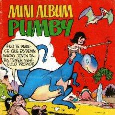 Tebeos: MINI ALBUM PUMBY - Nº 1 - EDITORIAL VALENCIANA - EDITADO EN ESPAÑA - AÑO 1983.. Lote 47634210
