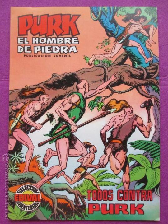 TEBEO, VALENCIANA, PURK EL HOMBRE DE PIEDRA, TODOS CONTRA PURK, NUM.15 (Tebeos y Comics - Valenciana - Purk, el Hombre de Piedra)