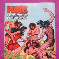Tebeos: TEBEO, VALENCIANA, PURK EL HOMBRE DE PIEDRA, LA ESTRATAGEMA DE PURK, NUM.26. Lote 50520234