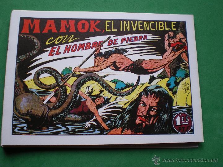 EL HOMBRE DE PIEDRA EDITORIAL VALENCIANA BLANCO/NEGRO HORIZONTAL.EDICION FACSIMIL 9 PDELUXE (Tebeos y Comics - Valenciana - Purk, el Hombre de Piedra)