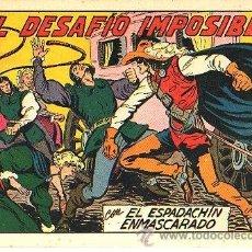 Tebeos: EL ESPADACHIN ENMASCARADO (VALENCIANA) Nº 175. Lote 47742342