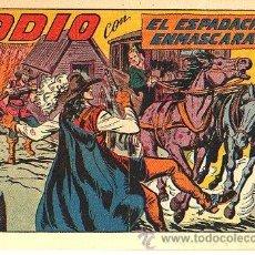 Tebeos: EL ESPADACHIN ENMASCARADO (VALENCIANA) Nº 179. Lote 47742430