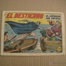 Tebeos: EL GUERRERO DEL ANTIFAZ Nº 133, EDITORIAL VALENCIANA. Lote 47747780