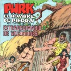 Tebeos: PURK EL HOMBRE DE PIEDRA EXTRAORDINARIO DE VACACIONES EDITORIAL VALENCIANA 1975. Lote 47792969