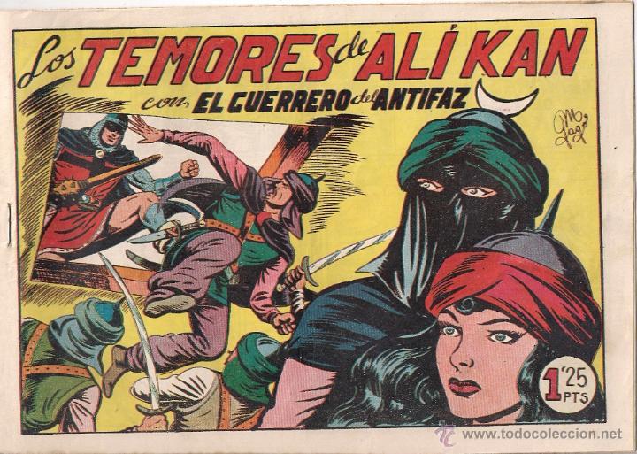 EL GUERRERO DEL ANTIFAZ Nº 156 (Tebeos y Comics - Valenciana - Guerrero del Antifaz)