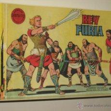 Tebeos: REY FURIA COMPLETA 27 NUMEROS EDITORIAL VALENCIANA REEDICION OFERTA (ANTES 70,00 €). Lote 195450232