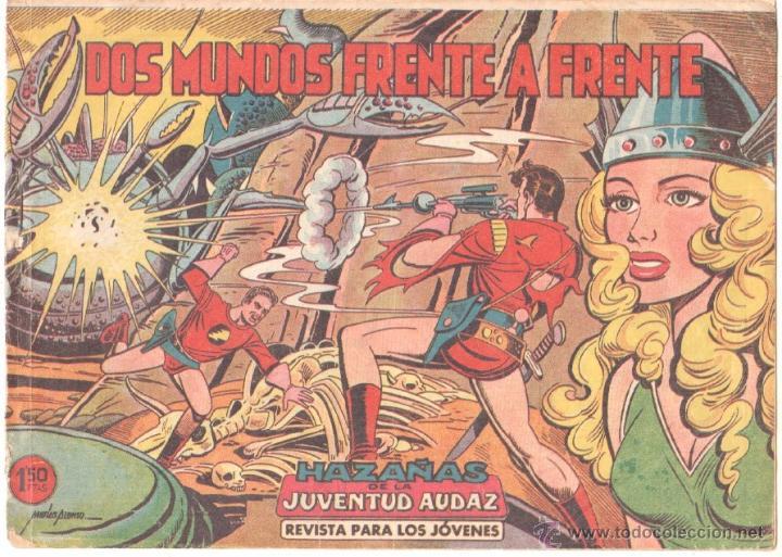 HAZAÑAS DE LA JUVENTUD AUDAZ SAGA AZNAR ORIGINAL Nº 20 EDITORIAL VALENCIANA 1959 MATIAS ALONSO DIBUJ (Tebeos y Comics - Valenciana - Otros)
