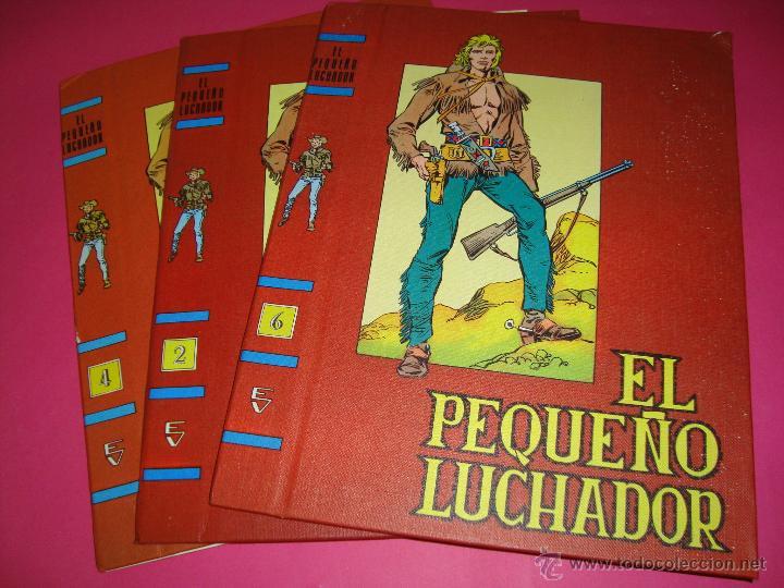 LOTE DE 3 TAPAS SIN USAR PARA ENCUADERNAR Nº2,4,6 (Tebeos y Comics - Valenciana - Pequeño Luchador)