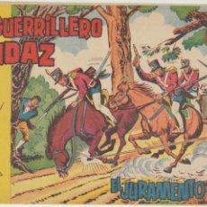 Tebeos: EL GUERRILLERO AUDAZ. VALENCIANA 1962. LOTE DE 21 EJEMPLARES. COLECCIÓN A FALTA DE 5 EJEMPLARES. Lote 47999220