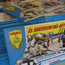 Tebeos: EL GUERRERO DEL ANTIFAZ, LOTE TOMOS, HOMENAJE MANUEL GAGO AZULES VALENCIANA, TAMBIÉN SUELTOS, 8A. Lote 48308860