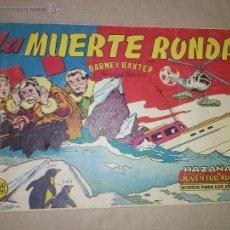 Tebeos: HAZAÑAS DE LA JUVENTUD AUDAZ - BARNEY BAXTER DE 1,50 Nº-6 VALENCIANA. Lote 48421799