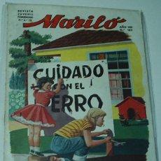 Tebeos: MARILO Nº 162 - VALENCIANA ORIGINAL. Lote 48736349