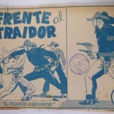 Tebeos: EL PEQUEÑO LUCHADOR - PRUEBA DE IMPRENTA - FRENTE AL TRAIDOR - GAGO - 17 HOJAS. Lote 48810144