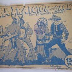 Tebeos: EL PEQUEÑO LUCHADOR - PRUEBA DE IMPRENTA - LA TRAICIÓN DE JACK - GAGO - 17 HOJAS. Lote 48810206