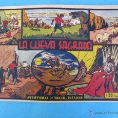 Tebeos: AVENTURAS DE JULIO Y RICARDO . LA CUEVA SAGRADA - EDITORIAL VALENCIANA. Lote 48880101