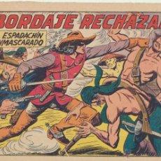 Tebeos: EL ESPADACHÍN ENMASCARADO Nº 121. VALENCIANA, 1952. Lote 48954945