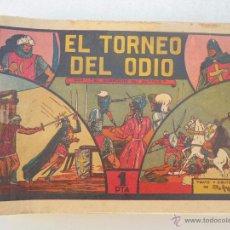 Tebeos: EL GUERRERO DEL ANTIFAZ - LOTE DE 25 EJEMPLARES ENTRE EL 4 Y EL 100 - ORIGINALES - JLV. Lote 48964120