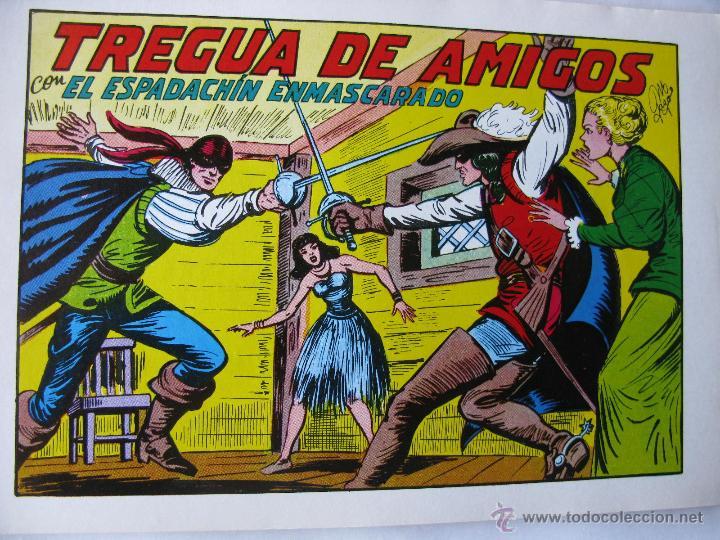 EL ESPADACHIN ENMASCARADO. LOTE DE 3 (NROS. 24, 34 Y 35). VALENCIANA. 1981 - 1982. (Tebeos y Comics - Valenciana - Espadachín Enmascarado)
