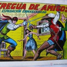 Tebeos: EL ESPADACHIN ENMASCARADO. LOTE DE 3 (NROS. 24, 34 Y 35). VALENCIANA. 1981 - 1982.. Lote 49128836