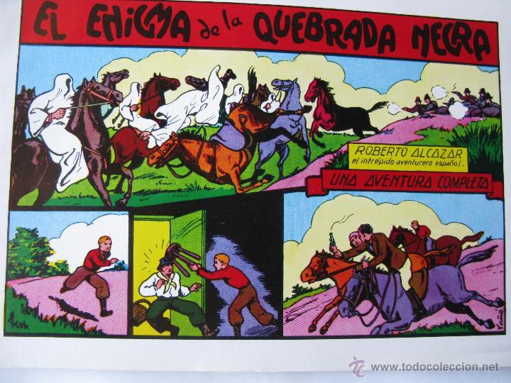 Tebeos: ROBERTO ALCAZAR. LOTE DE 4 (NROS. 9, 16, 26 Y 27). VALENCIANA 1981 - 1982 - Foto 3 - 49129108